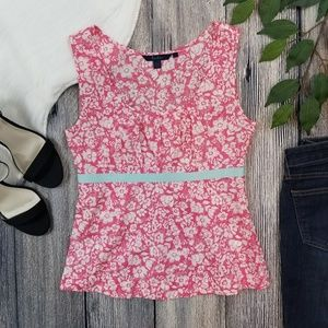 Boden Floral Tank Top